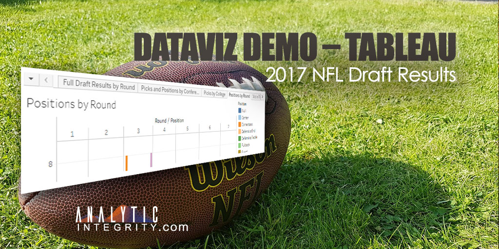 Tableau DataViz for the 2017 NFL Draft