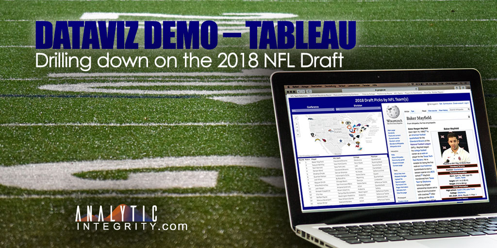 2018 NFL Draft Results DataViz