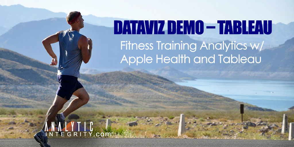 Fitness Training Analytics with Apple Health and Tableau
